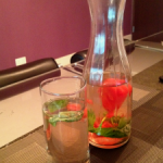 FLAVORED WATER- A go to this summer!