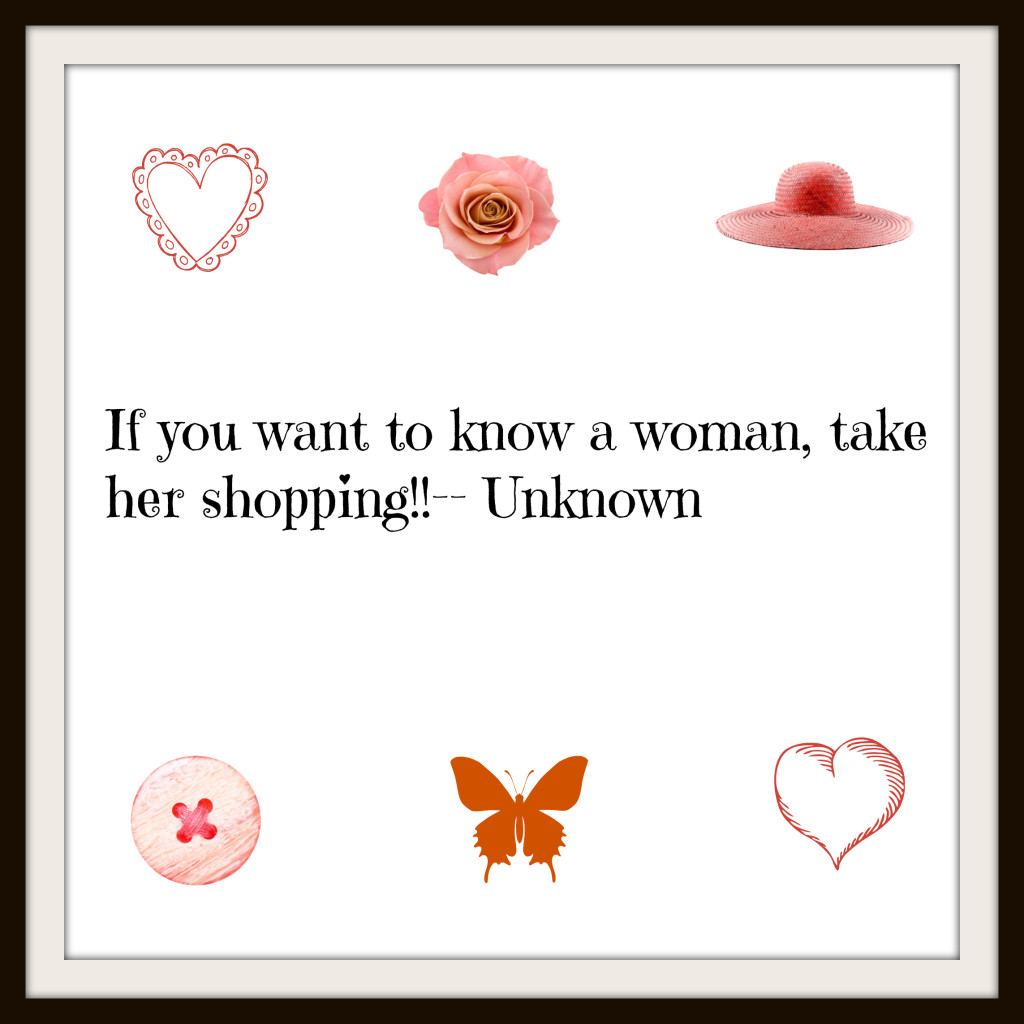 Women and shopping!!