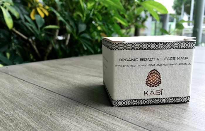 REVIEW & GIVEAWAY- Kabi Organics Bioactive Face Mask