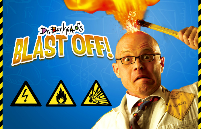 GIVEAWAY: 4 tickets to 'Dr Bunhead's Blast Off'